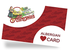 Albergian Card